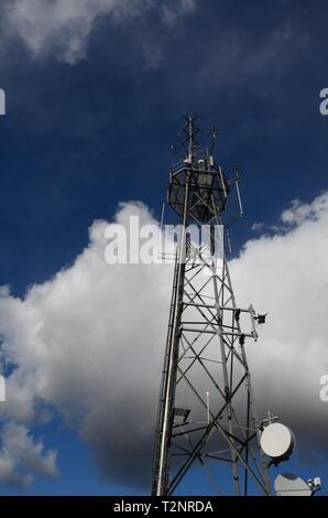 Radio Tower, Telekommunikation Mast - Stockfoto