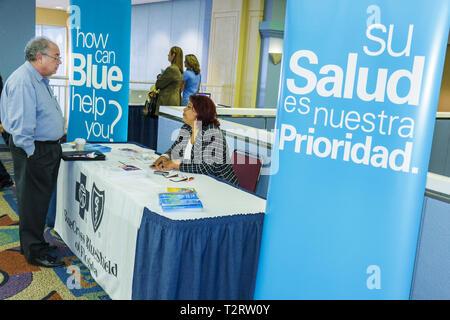Florida, FL, Süd, Miami Beach, SoBe, Miami Dade, Miami Beach Convention Center, Zentrum, Gemeinschaft Aktion zur Wiederherstellung der wirtschaftlichen Stabilität, exhi - Stockfoto