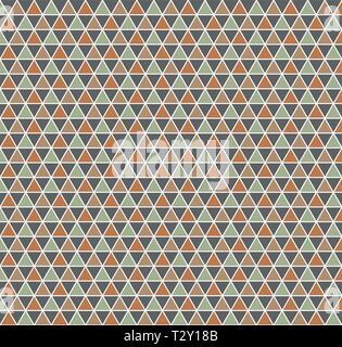 Dreieck Muster. Geometrisch einfachen Hintergrund. Kreative und eleganten Stil Abbildung - Stockfoto