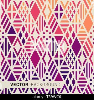 Geometrische Hintergrund mit multicolor Rauten. Gradient Muster mit rhombs - Stockfoto