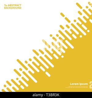 Abstrakte gelber Senf Farbstreifen Linien für business presentation Hintergrund. Sie können für Deckel, ad, Poster, Artwork verwenden, Jahresbericht. - Stockfoto
