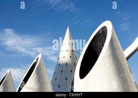 Spanien Valencia Stadt Wissenschaft, abstrakte Architektur Formen