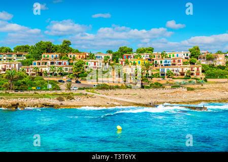 Wilden Strand Cala Murada in Palma Mallorca Inseln, Spanien - Stockfoto