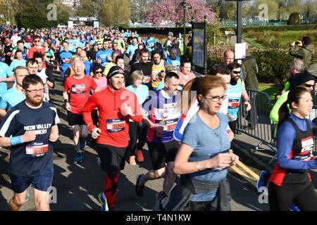 Brighton Marathon 2019 - Stockfoto