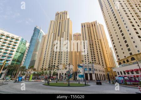 Vereinigte Arabische Emirate, Dubai, Dubai Marina - Stockfoto
