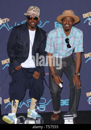 LOS ANGELES, Ca. Juni 27, 2006: outkast an den 2006 BET Awards in Los Angeles. © 2006 Paul Smith/Featureflash