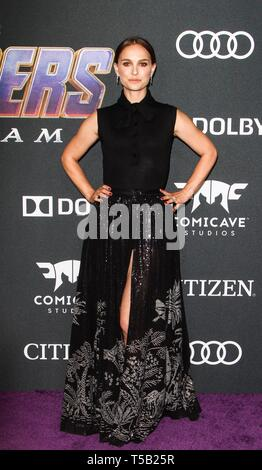 Los Angeles, CA, USA. 22 Apr, 2019. Bei der Ankunft für die RÄCHER: ENDGAME Premiere, Los Angeles Convention Center, Los Angeles, CA April 22, 2019. Credit: Everett Collection Inc/Alamy leben Nachrichten - Stockfoto