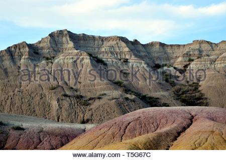 Die Badlands National Park - Stockfoto