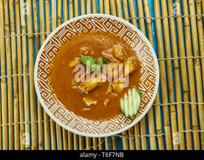 Alleppey Fisch Curry - Stockfoto