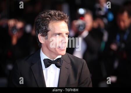 """CANNES, Frankreich - 21. MAI 2017: Ben Stiller besucht """"meyerowitz Geschichten """"Screening auf den 70. Filmfestspielen von Cannes (Foto: Mickael Chavet) - Stockfoto"""