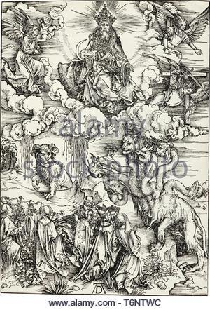 Albrecht Drer-The Tier mit zwei Hörner wie ein Lamm (B - Stockfoto