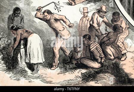 Sklavin Ausgepeitscht