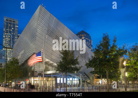 Eingangspavillon nationalen September 11 Memorial Museum (© DAVIS BRODY BOND 2018) DOWNTOWN MANHATTAN NEW YORK CITY USA