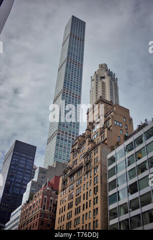 Financial District in Manhattan - Stockfoto