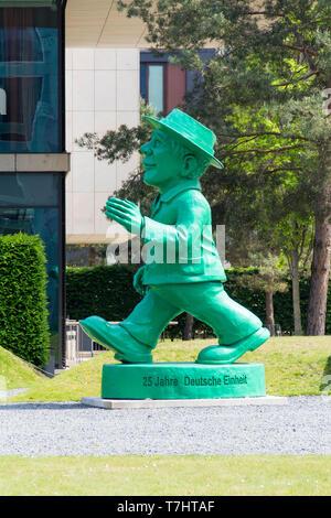 Ein ampelmann Statue in Berlin - Stockfoto