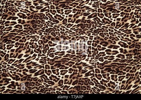 Leopard Hintergrundmuster Tierdruck leopard textile Design Stoff Leopard skin nahtlose Muster - Stockfoto