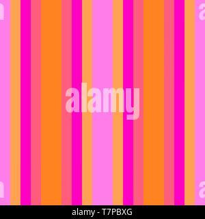Neon Pink, Violett und Sandy Brown farbigen vertikalen Linien. Abstract background mit Streifen für Tapeten, Geschenkpapier, Fashion Design oder Web sit - Stockfoto