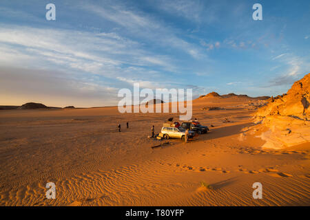 Expedition Jeep im nördlichen Tschad, Afrika