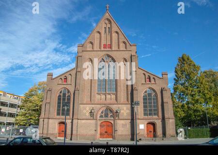 Onze Lieve Vrouwekerk Kirche in Apeldoorn Niederlande 2018 - Stockfoto
