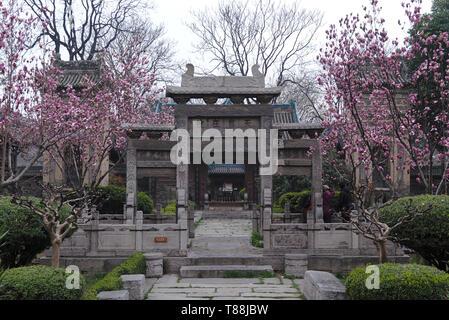 Garten der Moschee in Xi'an, China - Stockfoto