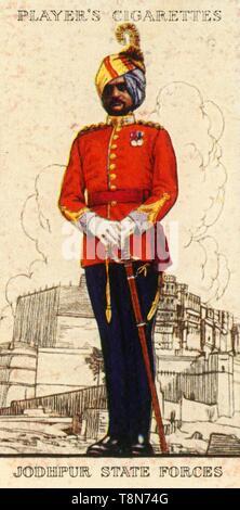 """""""Jodhpur staatliche Kräfte', 1936. Schöpfer: Unbekannt. - Stockfoto"""