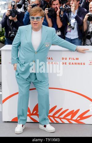 Cannes, Frankreich. 16. Mai, 2019. 72. Filmfestival in Cannes. ELTON JOHN, 2019 Cannes: Allstar Bildarchiv/Alamy leben Nachrichten - Stockfoto
