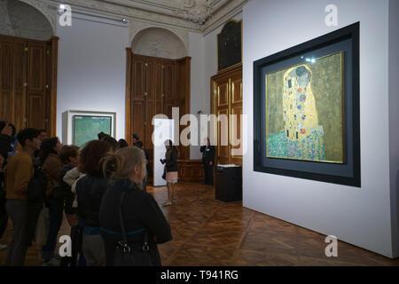 Innenraum der Kunst Museum im Schloss Belvedere in Wien Österreich