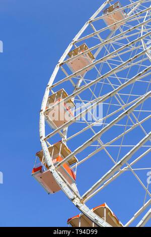 Das große Rad auf Seemänner Pier der Moreys Piers, Wildwood, New Jersey, USA