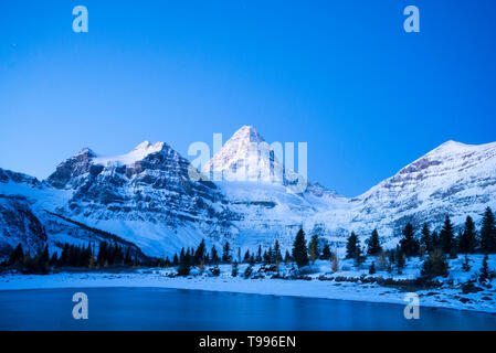 Mount Assiniboine Provincial Park, Britisch-Kolumbien, Kanada - Stockfoto