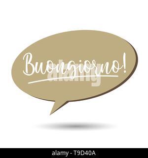 Guten Morgen In Italienisch Buongiorno Ist Guten Morgen