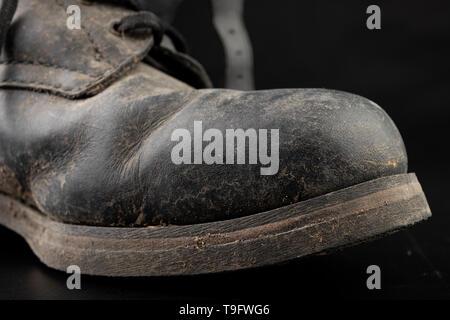 Stockfoto Aus Jahren 1920er Damen Den Antike Leder Stiefel 8Nn0mwv