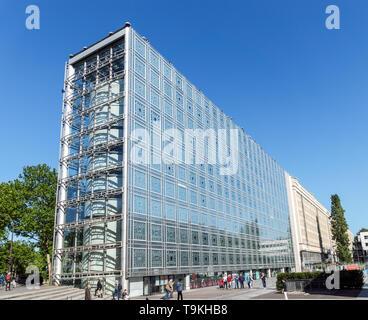 Arabische Welt Institut Gebäude - Paris, Frankreich - Stockfoto