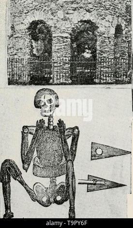 """""""Die Geschichte der Pilger und Puritaner, ihre Vorfahren und Nachkommen; Grundlage der Amerikanisierung"""" (1922) - Stockfoto"""
