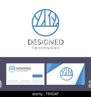 Creative Business Card und Logo Vorlage infizierte Wunde, Infektion, Hautinfektion, Haut Wunde Vector Illustration - Stockfoto