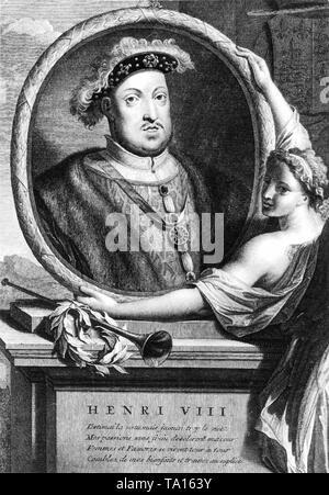 Henry VIII (1491-1547), britischer König. - Stockfoto
