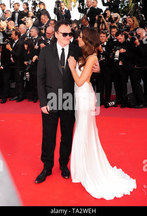 Cannes Film Festival 21 stMay an einem roten Teppich Quentin Tarantino l - Stockfoto