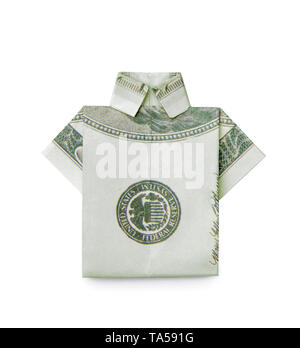 Dollar Bill Origami- Shirt and Tie : 15 Steps (with Pictures ... | 348x300