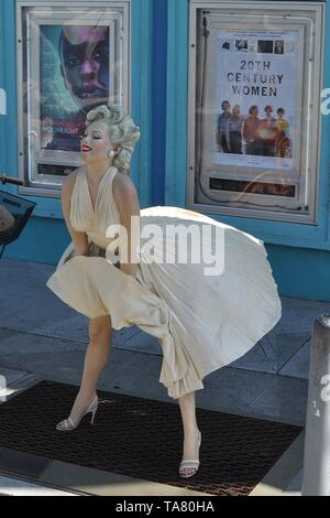 MARILYN MONROE STATUE in Key West, Florida. - Stockfoto