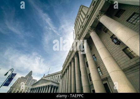 United States Court House in Manhattan, New York City - Stockfoto
