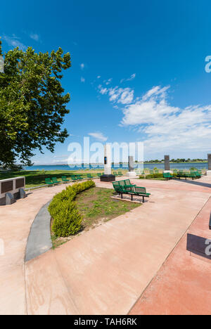 World Veterans Memorial in Kennewick, Washington. - Stockfoto