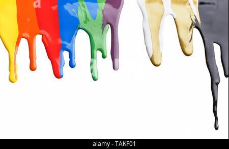 Farbe tropft - Stockfoto