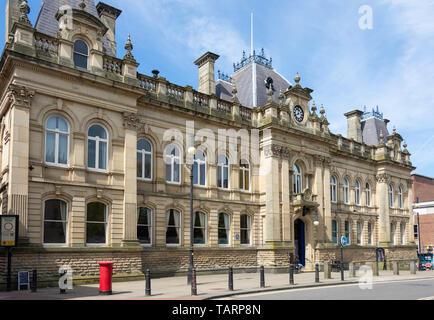 Wolverhampton Civic Hall, North Street, Wolverhampton, West Midlands, England, Großbritannien - Stockfoto