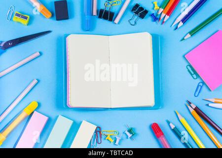 Schreibtisch Konzept - Stockfoto