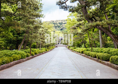 Otani Sobyo Tempel in Kyoto Japan - Stockfoto