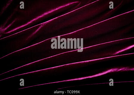 Hintergrund der Lila velor Stretch. Textur, fabric - Stockfoto