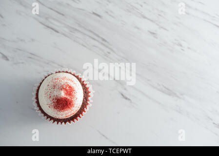 Red Velvet Cupcake - Stockfoto
