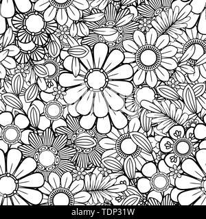 hand für erwachsene malvorlagen mit bull zentangle monochrom skizze gezeichnet stock