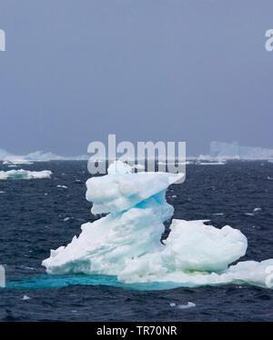 Treibeis in der weddel Meer, Antarktis - Stockfoto