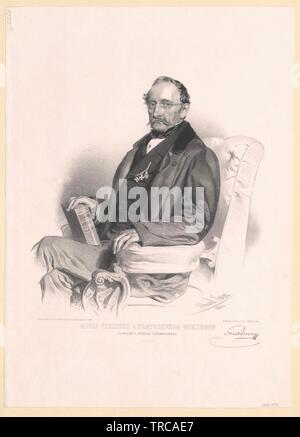 Pratobevera-Wiesborn, Adolf Baron, Additional-Rights - Clearance-Info - Not-Available - Stockfoto