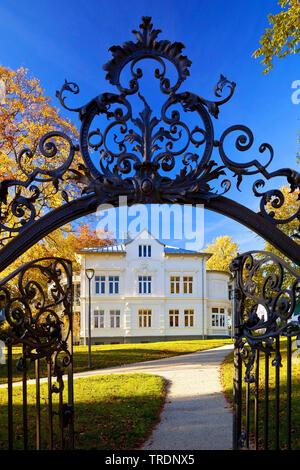 Villa Wippermann, Regional Museum der lokalen Geschichte, Deutschland, Nordrhein-Westfalen, Sauerland, Halver - Stockfoto